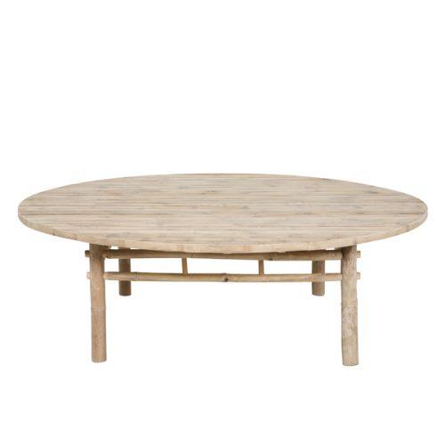 Bambubord Tine K Ø140 cm-0