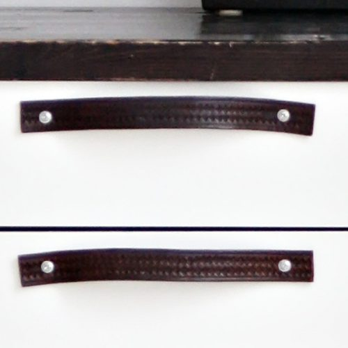 Läderhandtag Tine K-4506