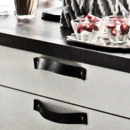Läderhandtag Tine K-4505