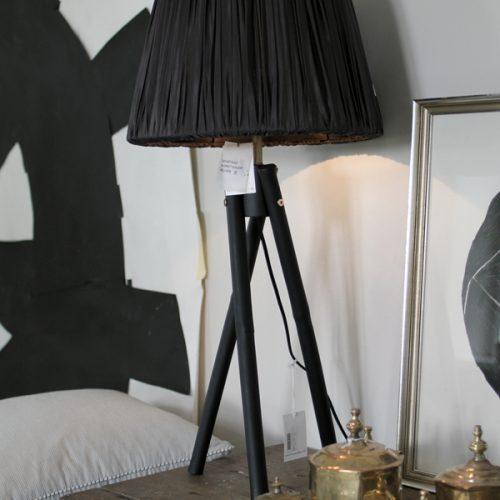 Lampfot Svart Tine K -4077