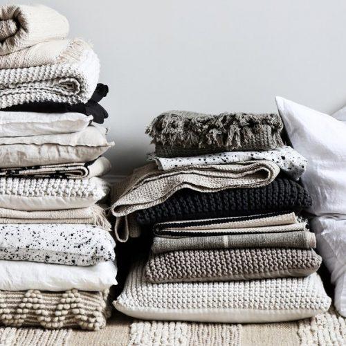 Rib cotton rug-8272