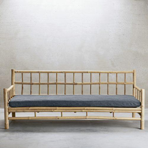 Bambuset Soffa 2 st Fåtölj-7149