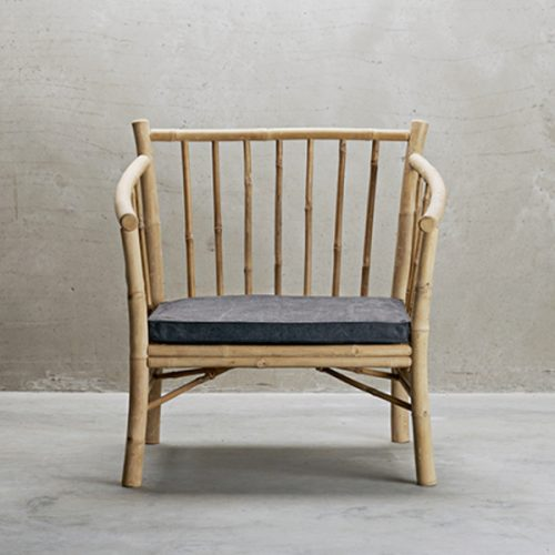 Bambuset Soffa 2 st Fåtölj-7180
