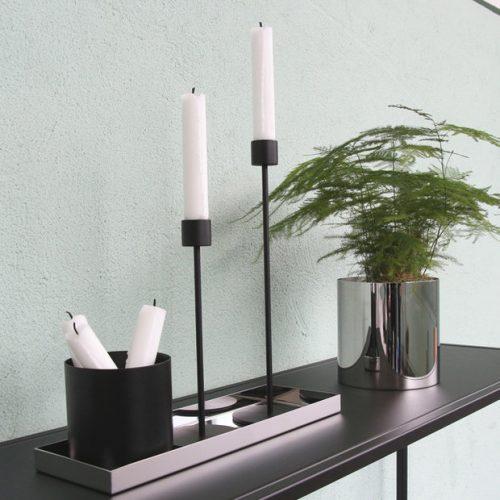 Candlestick Black-7244