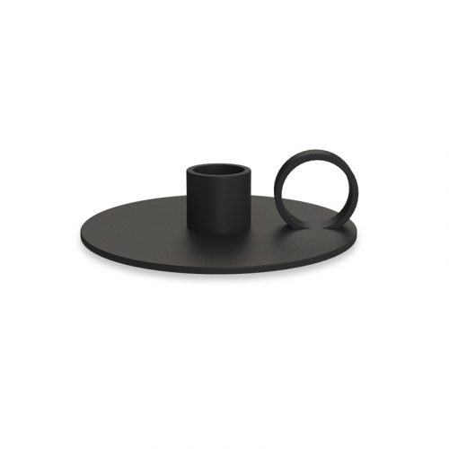 Candlestick Loop Black-0