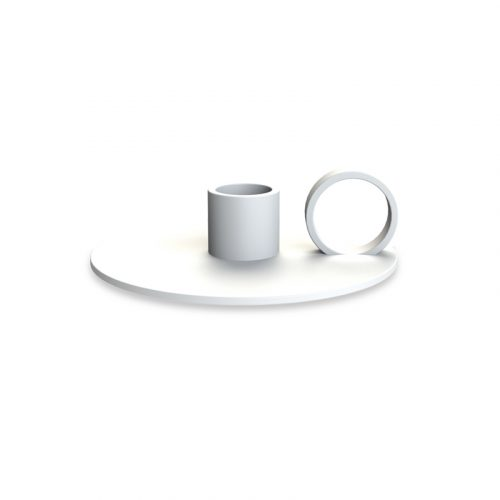 Candlestick Loop White -0