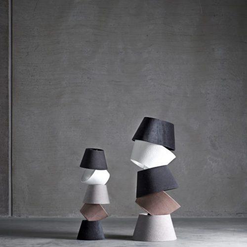 Tine K Lampskärm Vit M -8762