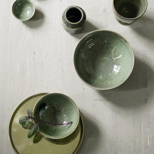 Tine K Glasserad keramikvas-7495