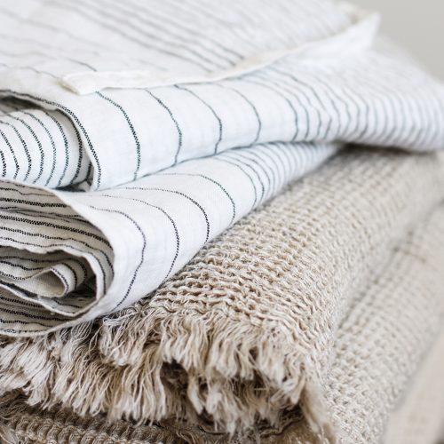 Tell me more Calma cotton/linen blanket-9058