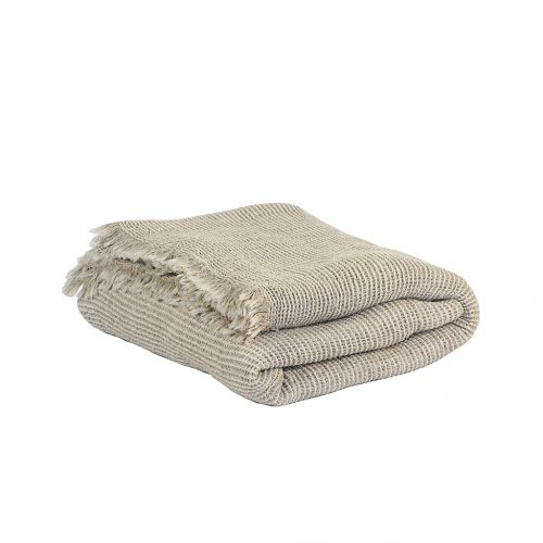 Tell me more Calma cotton/linen blanket-9056