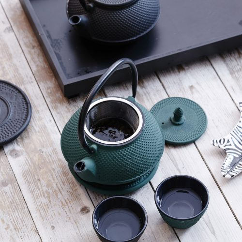 By On Tea pot London Grön-7971