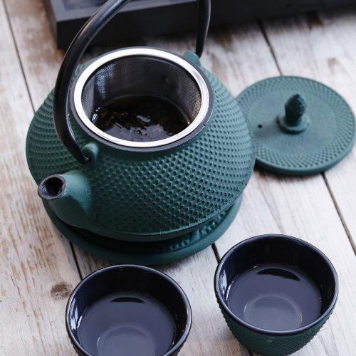 By On Tea pot London Grön-0
