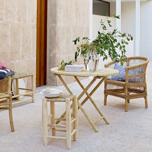 Matbord i Bambu Tine K-8050