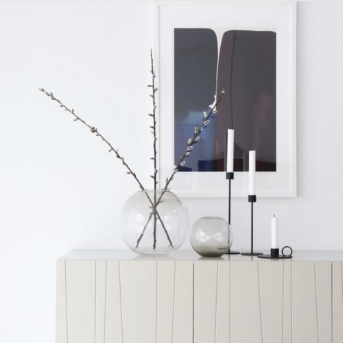 Cooee Design Ball Vase glas ash-8251