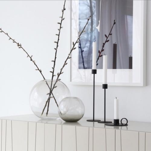 Cooee Design Ball Vase glas ash-0