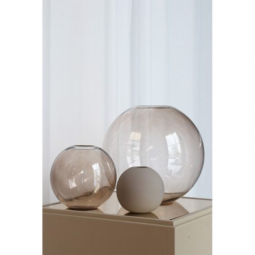 Cooee Design Ball Vase glas brown-8250