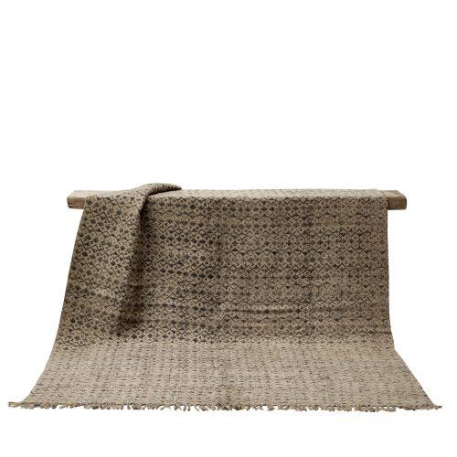 Triangle jute rug-0