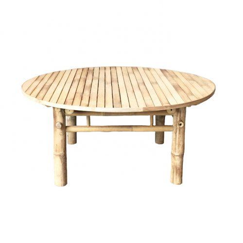 Bambubord Tine K Ø100 cm-0
