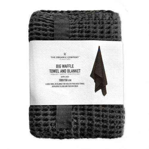 The Organic company Handduk Dark Grey-8404