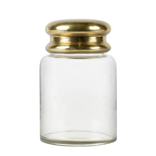 Glasburk med guldlock-8735