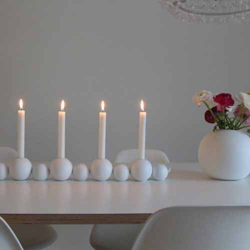 Cooee Design Candlestick ball four candles -0
