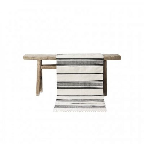 Stripe cotton rug - 80x150-9333