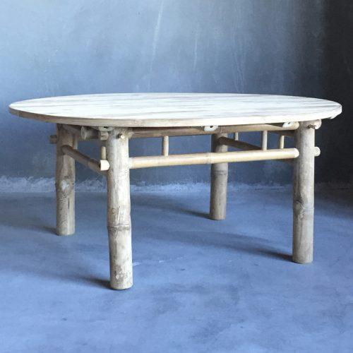 Bambubord Tine K Ø90cm-0