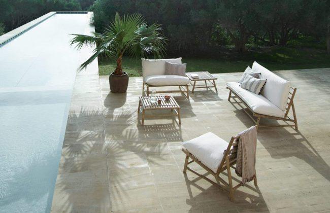 Bambugrupp i loungemodell