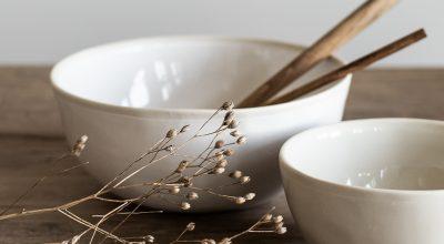 Lille white bowl