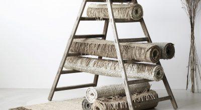 Hemp rugs ladder